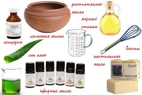 Рецепты домашних шампуней для детей