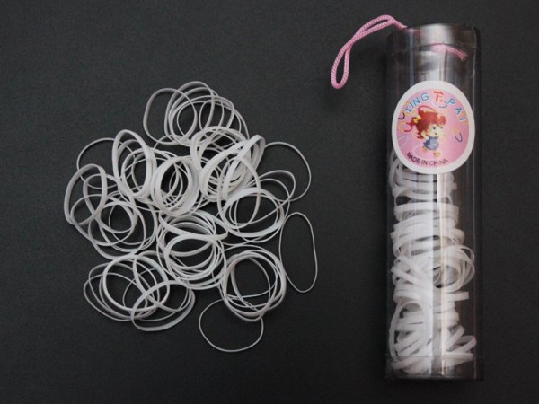 Используйте мелкие силиконовые резинки