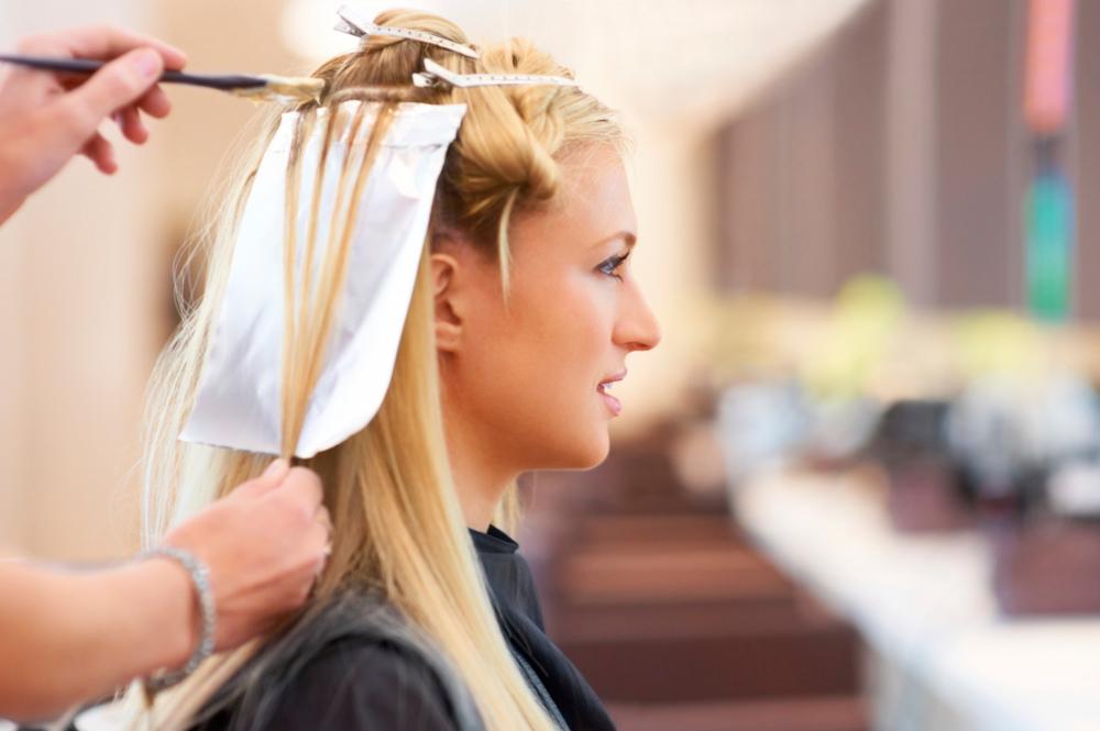 Окрашивание волос при гв.