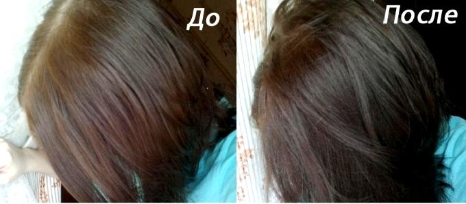Цвета тоника на волосах