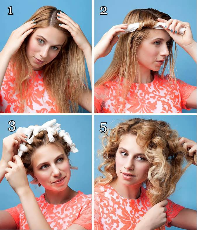 Как сделать большие локоны (36 фото) на длинные волосы с помощью утюжка, плойки или бигуди: видео-инструкция - накрутить своими