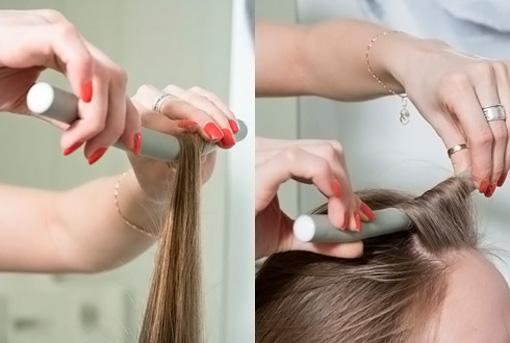 Как накрутить волосы на поролоновые бигуди
