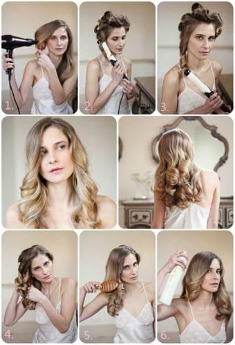 Как причесать длинные волосы, если очень хочется локоны