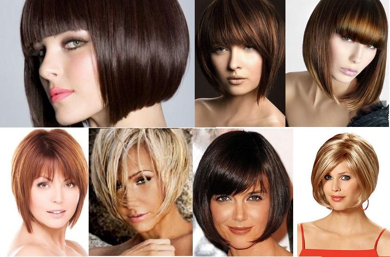 Причёски для овального лица женские