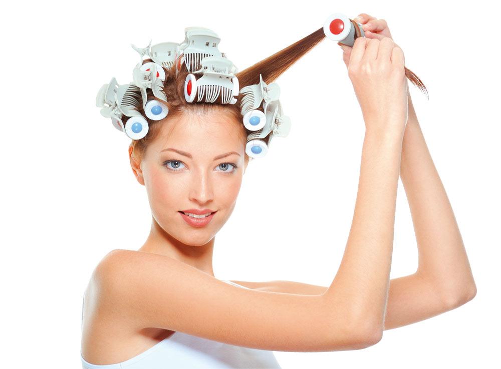 как правильно крутить волосы на бигуди