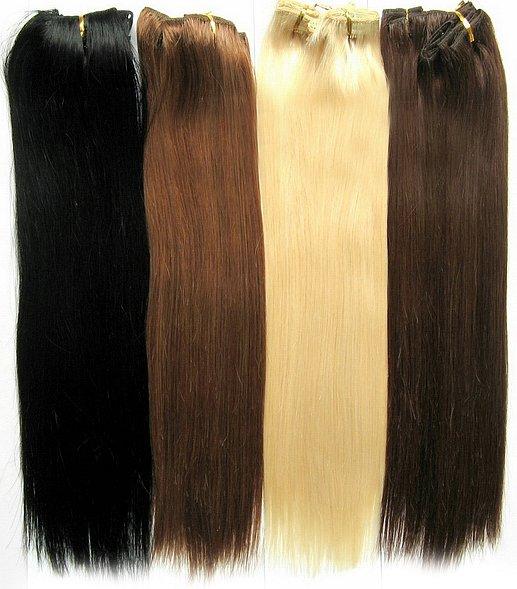 Покрасить искусственные волосы