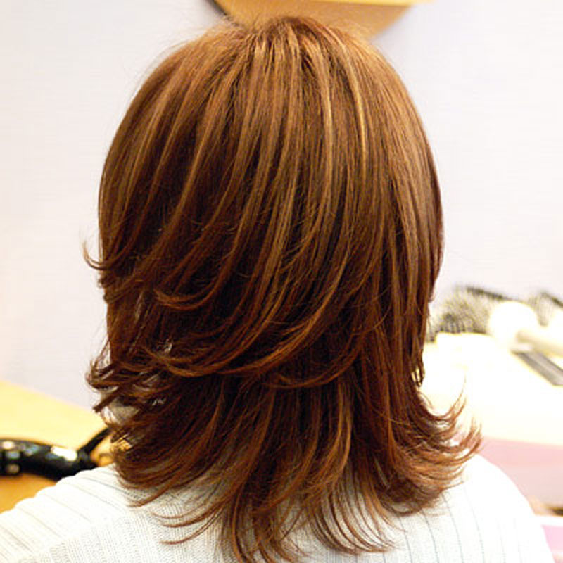 Причёски каскад на средние волосы