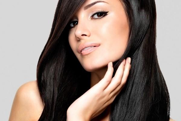 Кератин придает волосам блеск и гладкость