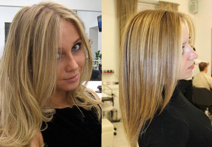 мелирование на русые волосы тонкие