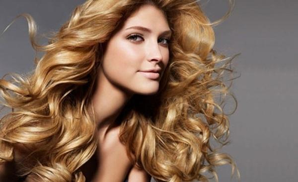 Укладка волос льном