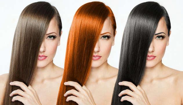 Покрасить волосы самой