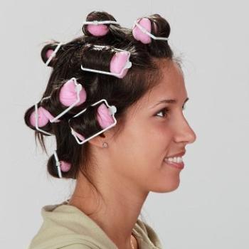 Как делать бигуди на волосах