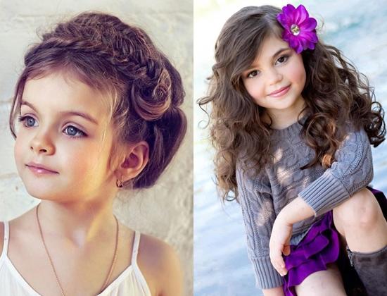 Красивые причёски на выпускной детские
