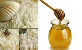 Маска из морской соли и меда поможет подготовить волосы