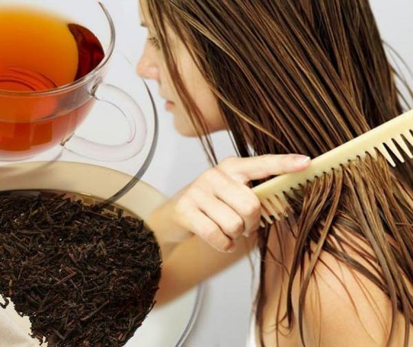 Я крашу волосы чаем