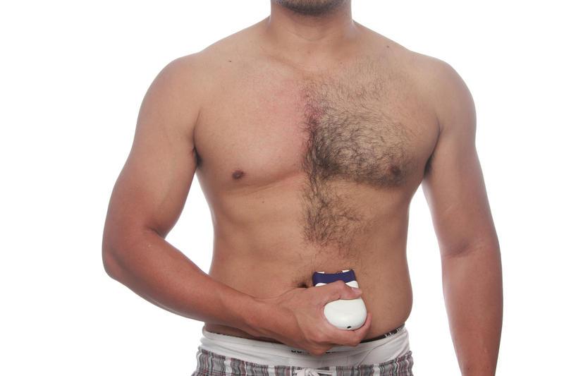 бритьё волос на мужских гениталиях видео