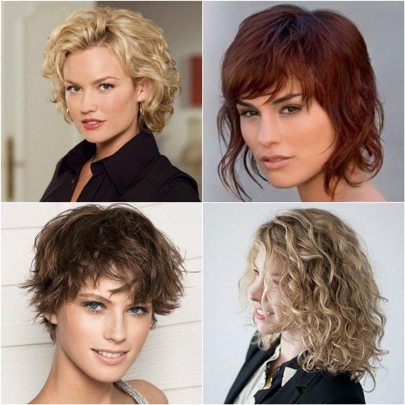 Прически для волос с долговременной укладкой