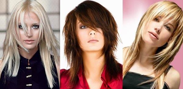 Стрижка на средние волосы на жидкие волосы