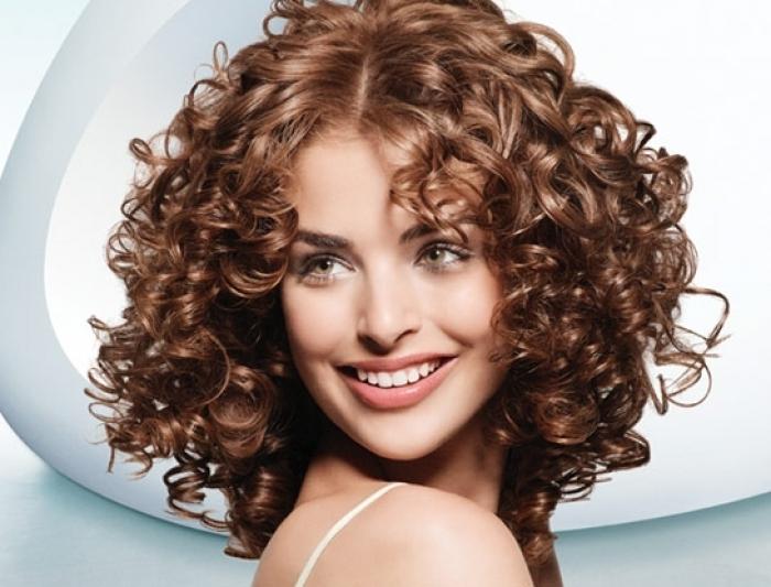 Химия волос фото на средние волосы фото