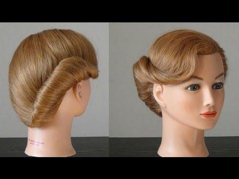 Строгая стрижка для волос