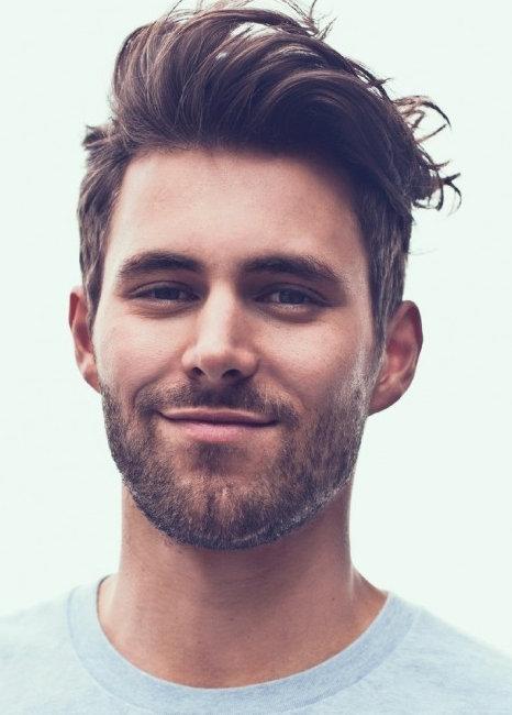 Причёски с длинной чёлкой для мужчин