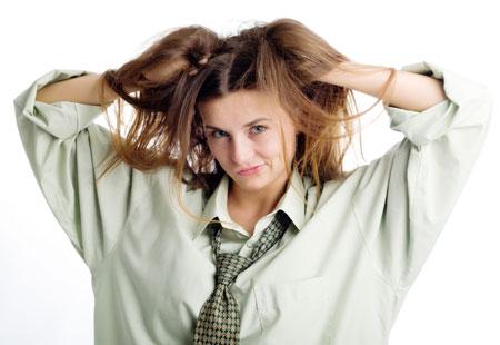 Как сделать волосы густыми и жесткими