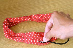 Как сшить резинку для волос своими руками 82