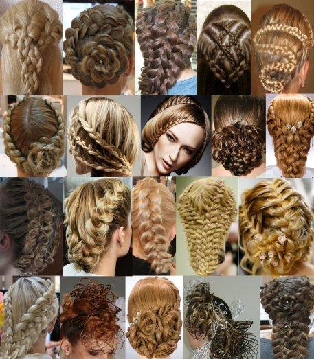 косы косички плетение на волосах видео