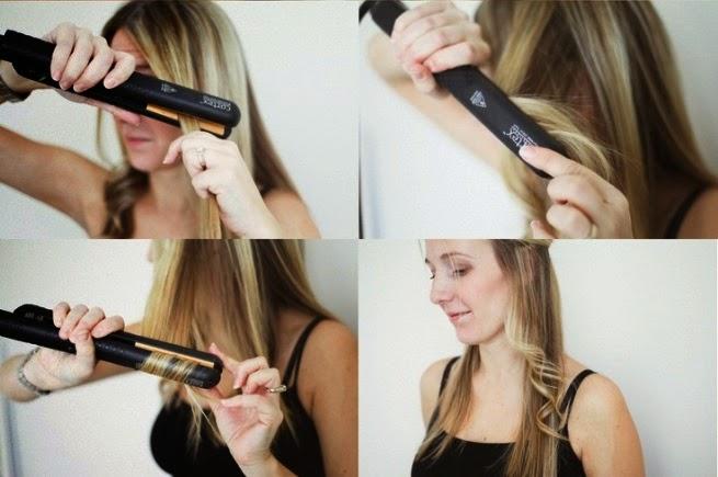 Как сделать кудри на средние волосы плойкой