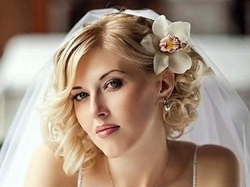 Свадебная укладка волос видео