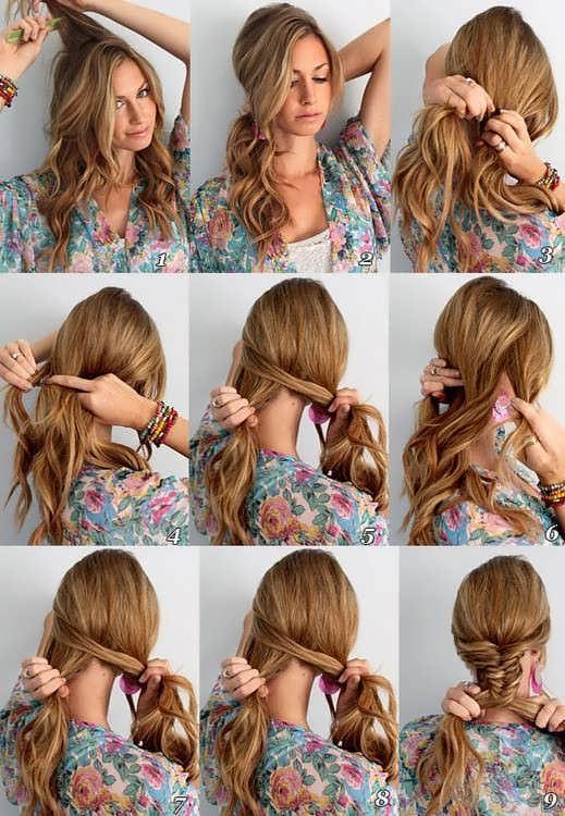 Красивые прически своими руками на тонкие волосы