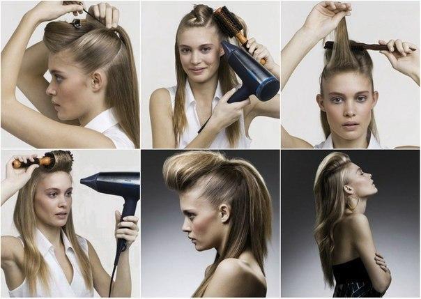 Как сделать начес на короткие волосы самой себе - Блог - PrizivOnline