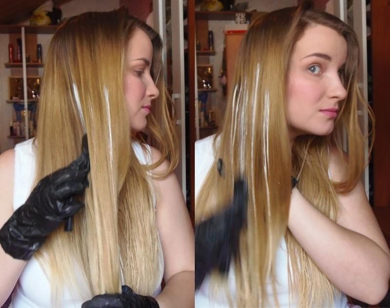 Как в домашних условиях покрасить короткие волосы