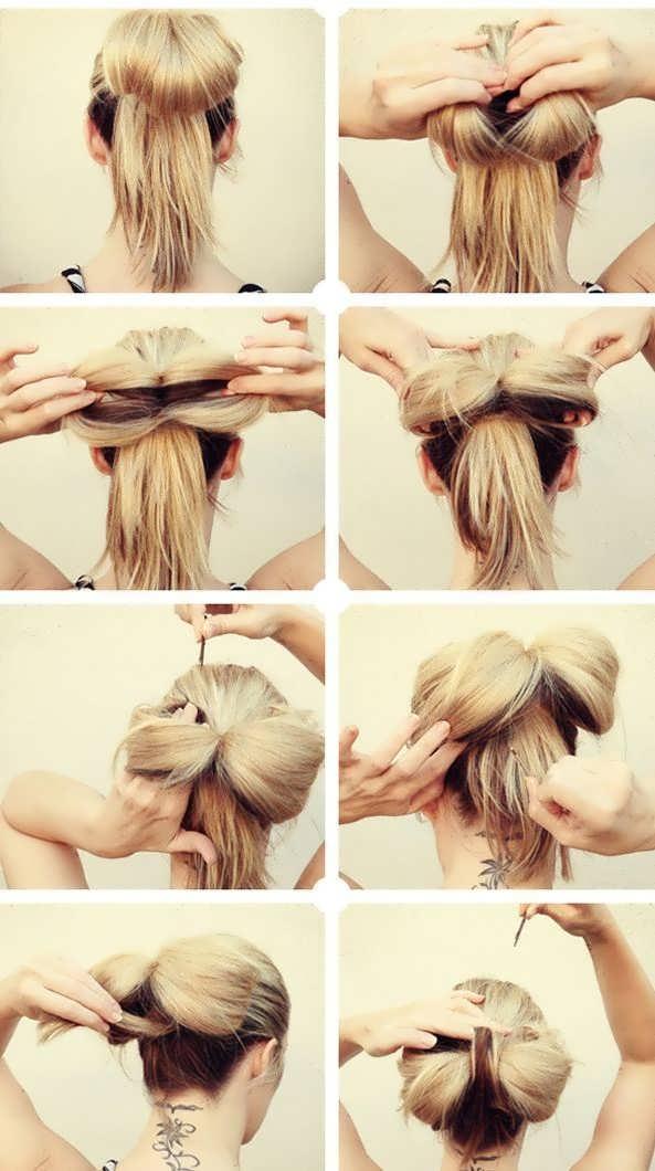 Как сделать прически на длинные волосы своими