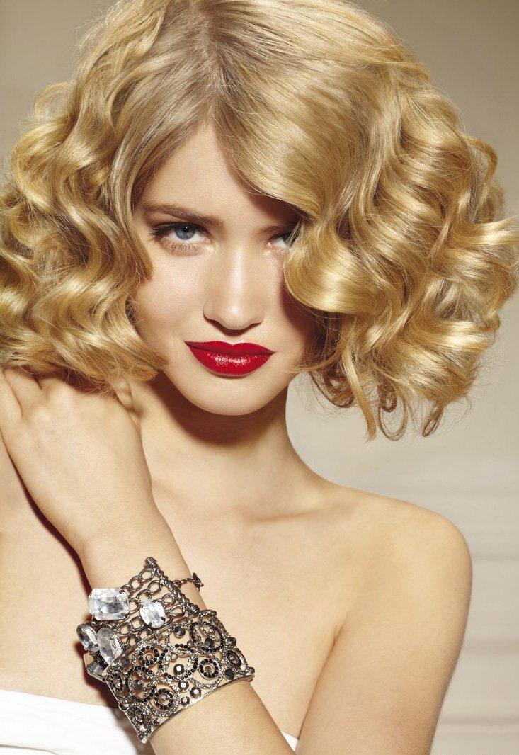 как накрутить на термобигуди средние волосы