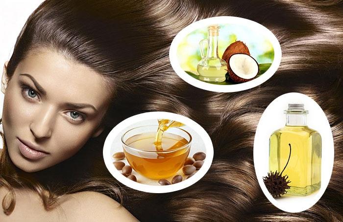 Как удалить репейное масло с волос
