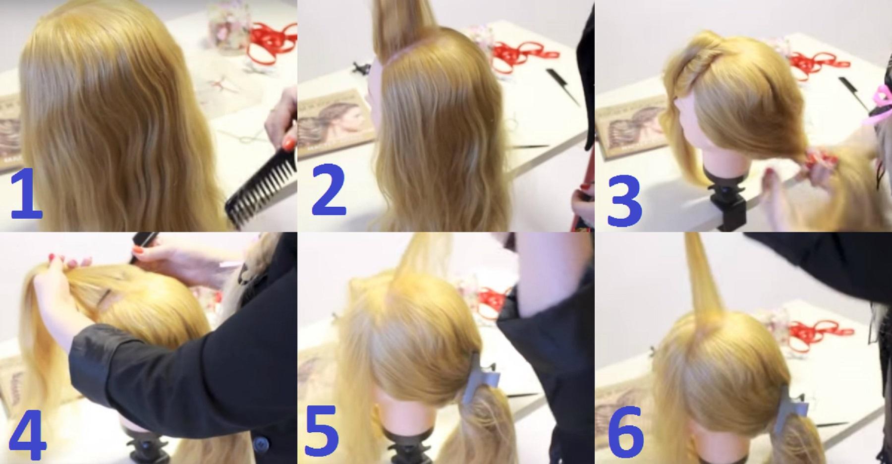 Греческая коса пошагово