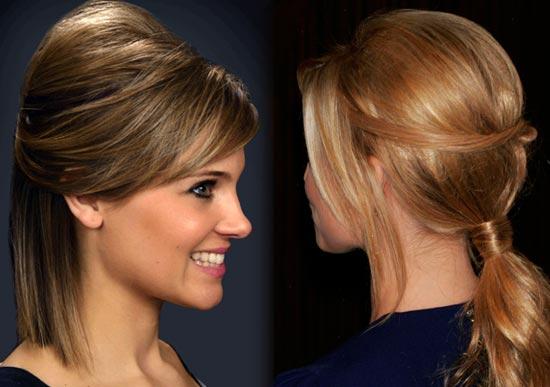 Как сделать начес на короткие волосы самой себе