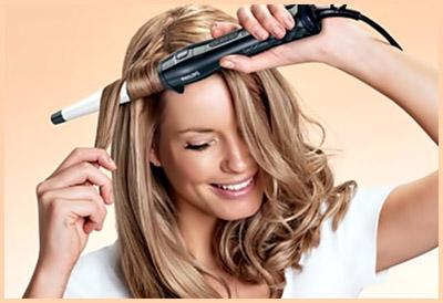 Наносите составы непосредственно перед укладкой локонов и ваша прическа будет сиять!