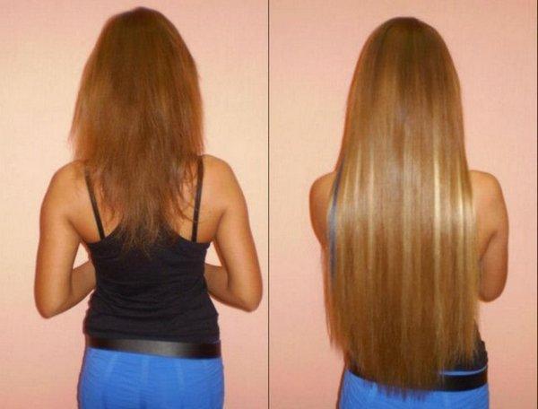 Припаять волосы