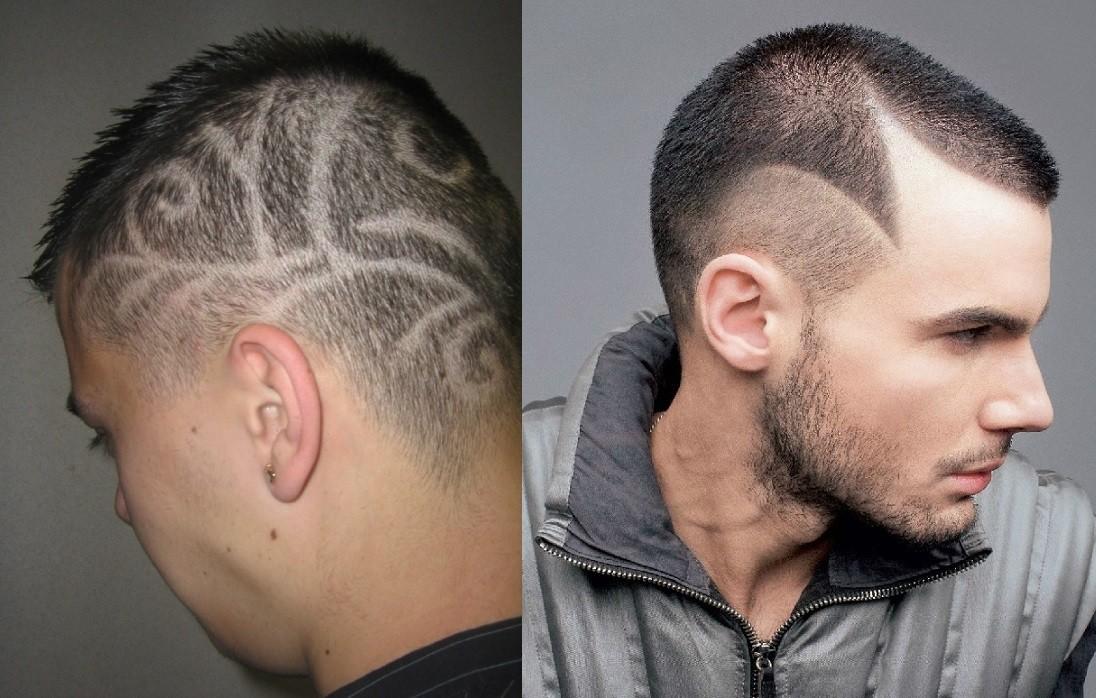 Порно жена подстригла волосы машинкой