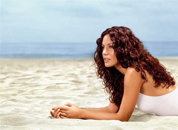Маска для волос после моря и солнца