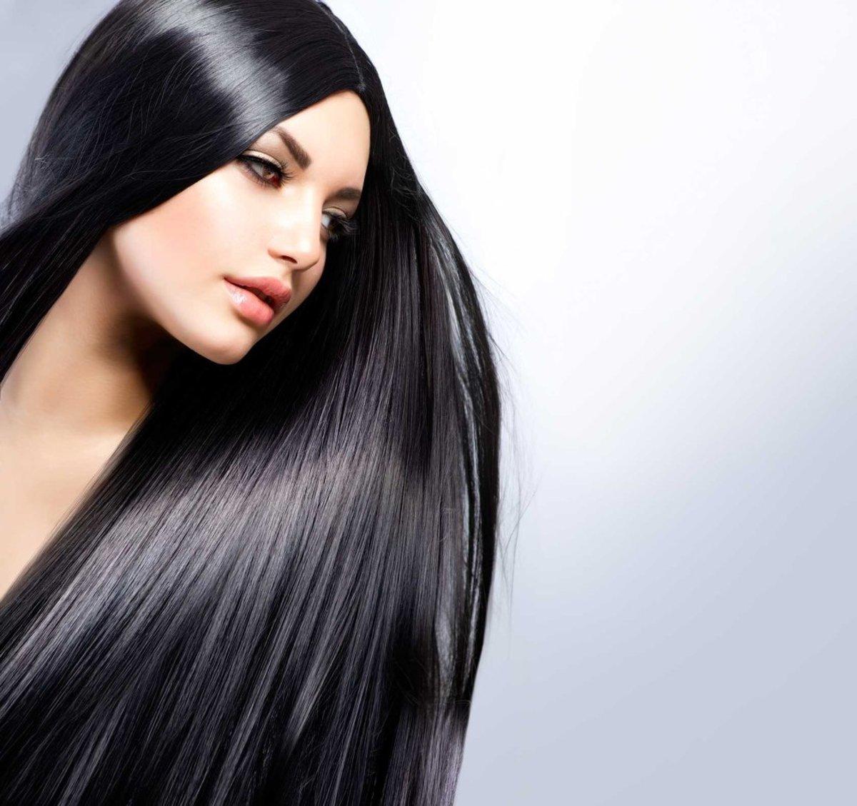 Как волосы сделать блестящими и живыми