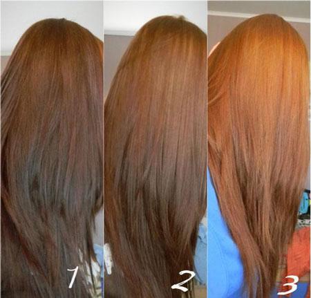Мастер класс по смывке волос