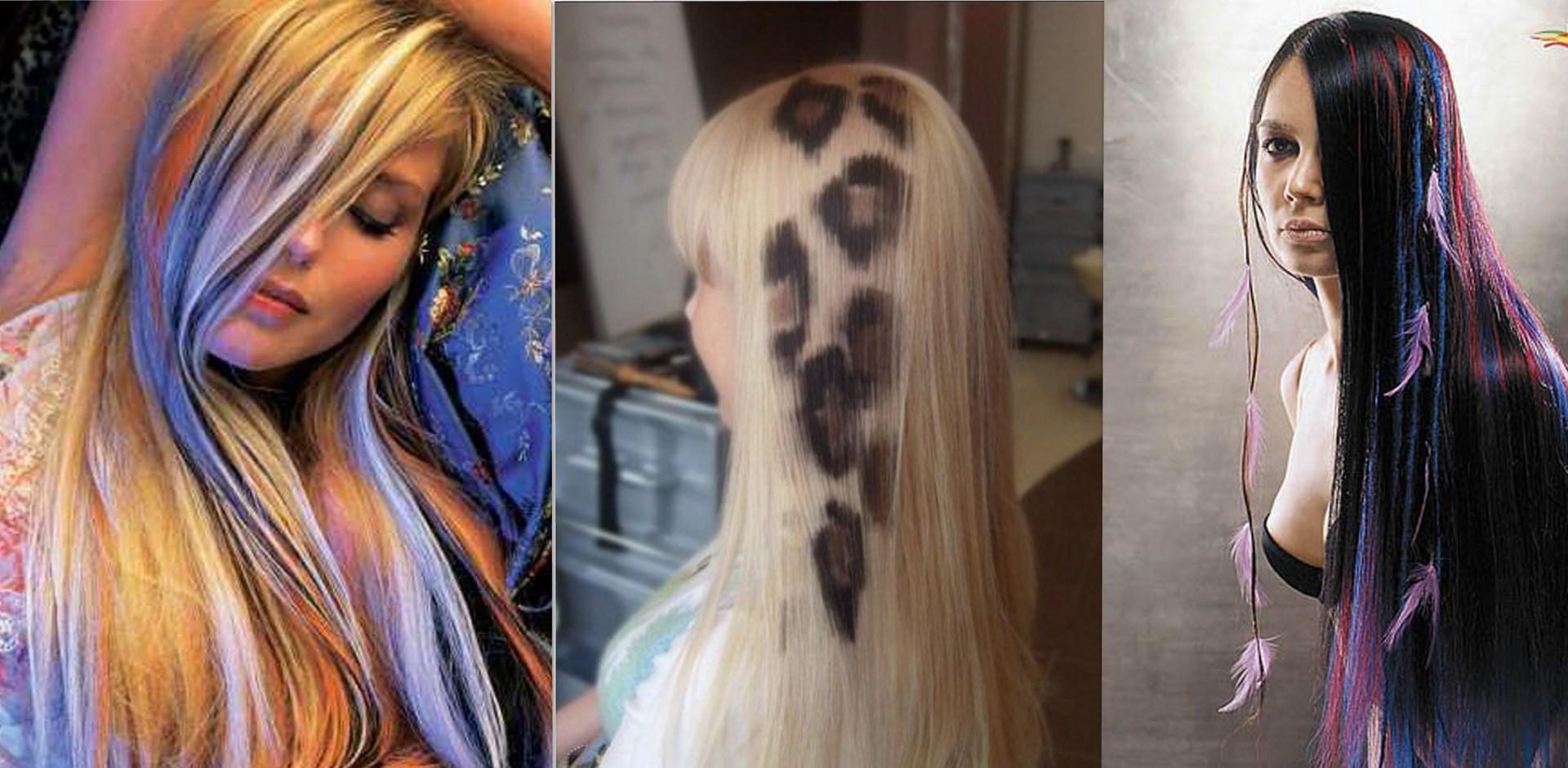 Можно ли осветлять нарощенные волосы