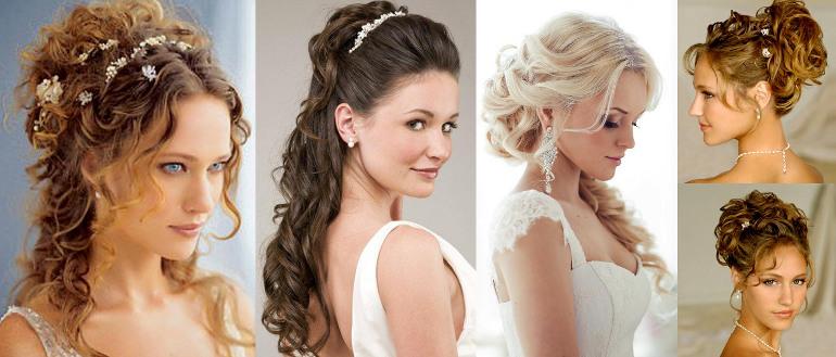 Свадебные причёски на средние волосы в греческом стиле