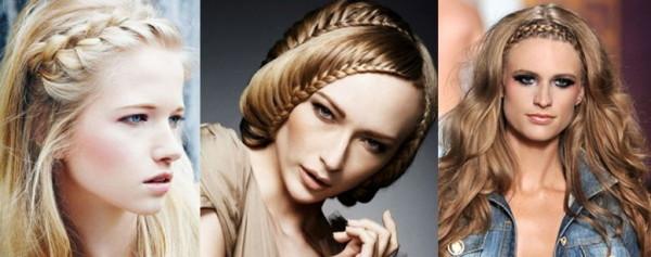 Ободок из волос – отличный компромиссный вариант между комфортной универсальной прической и распущенной шевелюрой