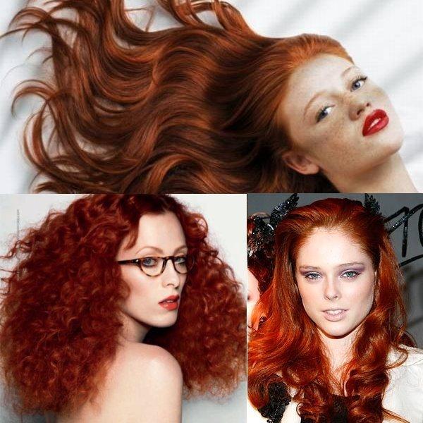 Как сделать рыжий цвет волос красивыми