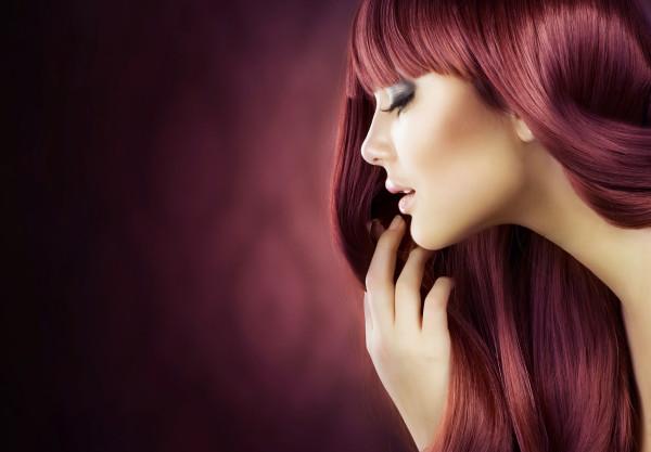 Окрашенные волосы - красное дерево L'Oreal Paris 4-56