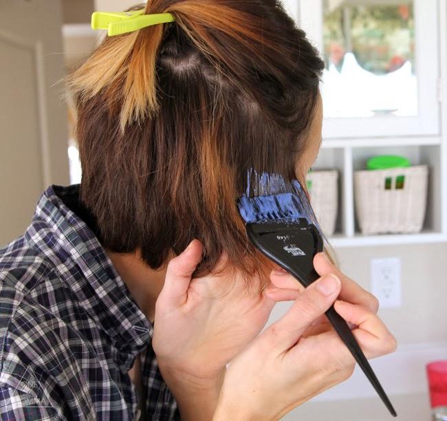 Омбре на коротких волосах в домашних условиях